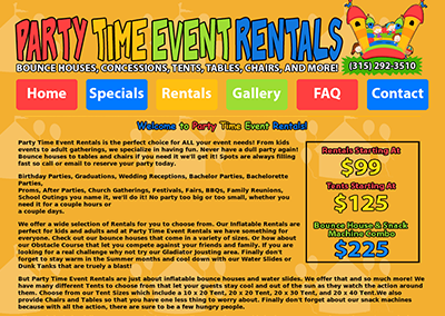 Party Time Event Rentals