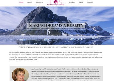 First Quality Coach Website