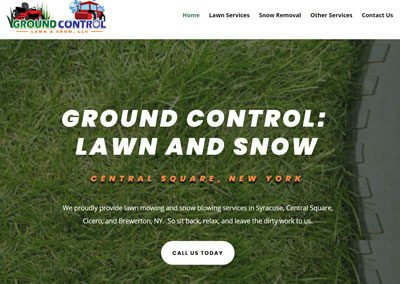 Ground Control LS Website