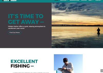 Hidden Harbor Website
