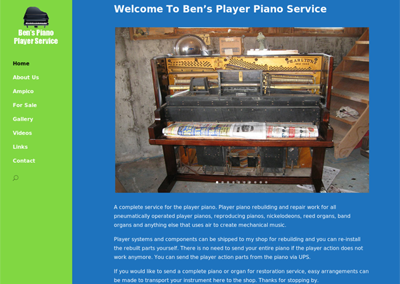 Ben's Player Piano Service