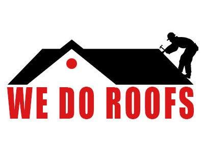 We Do Roofs Logo Design