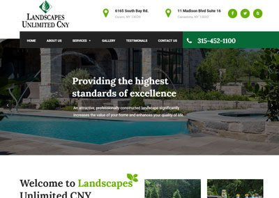 Landscapes Unlimited CNY Website